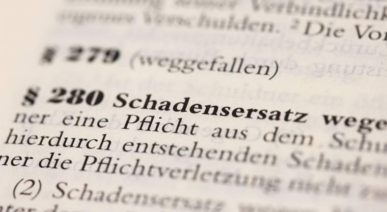 Rechtliche Beratung um das Schadensersatzrecht durch die Kanzlei Matthias Kopp in Viechtach